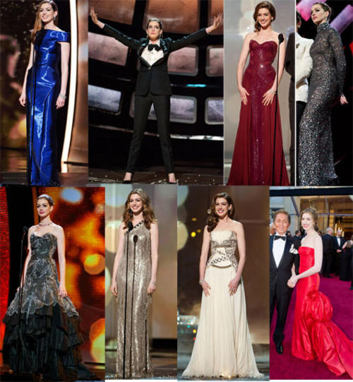 anne oscar dresses